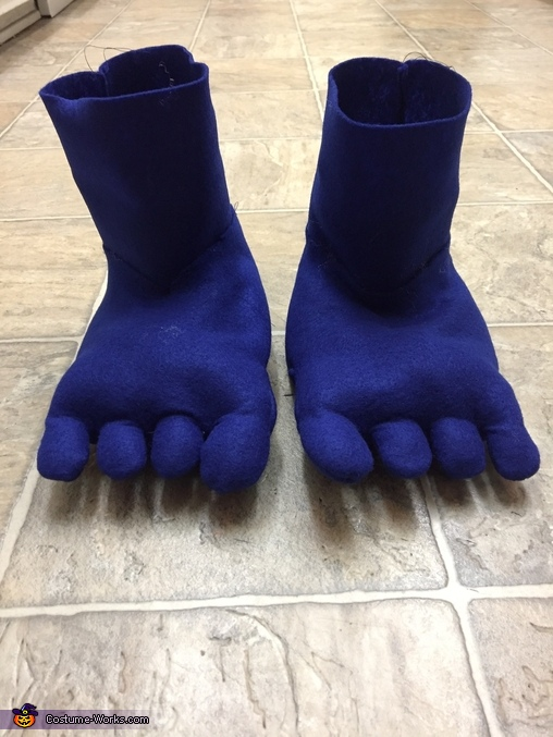 Felt Toes!, Biggie from Trolls Costume