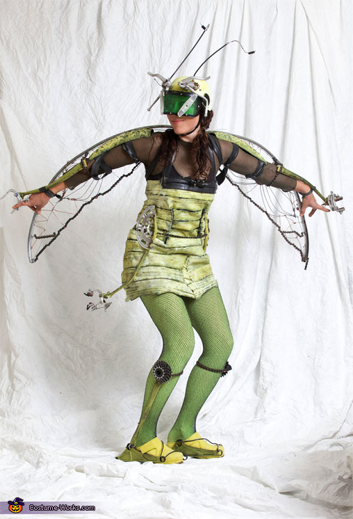 Homemade Bikehopper Costume