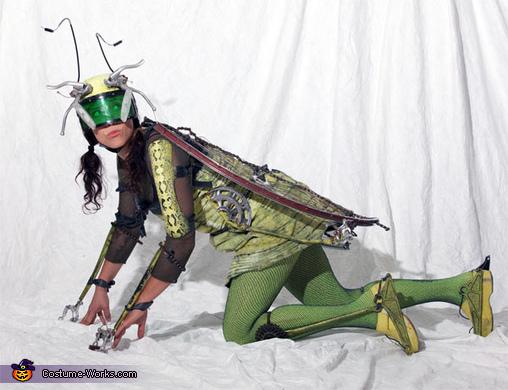 Bikehopper - crouched, Bikehopper Costume
