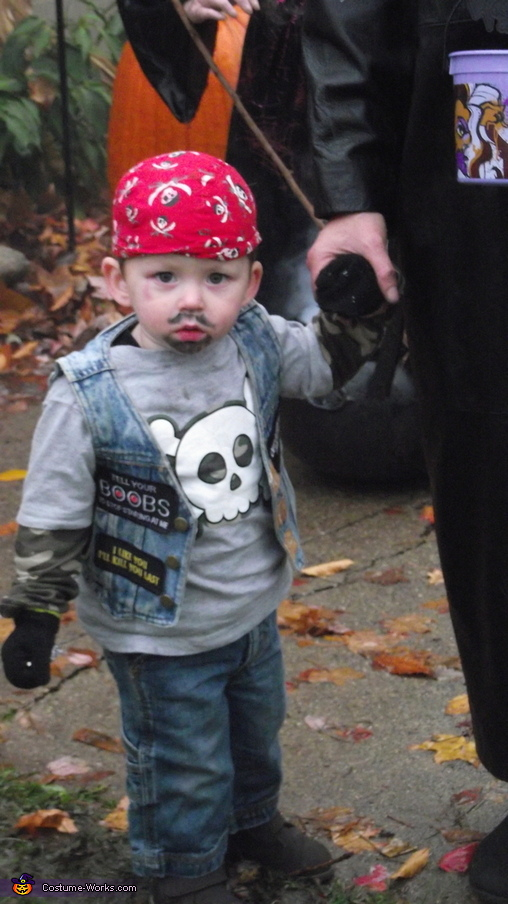 Biker Baby Costume