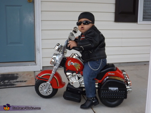 Biker Baby!, Biker Baby and Family Costume