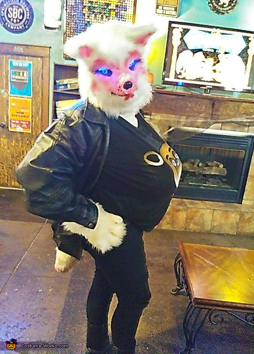 Biker Funtime Foxy Costume