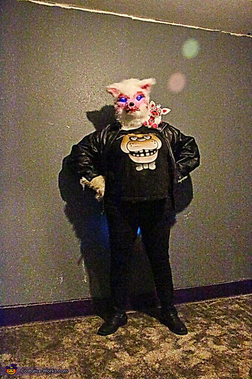 Biker Funtime Foxy Homemade Costume