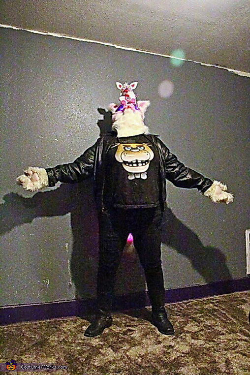 Biker Funtime Foxy Homemade Costume