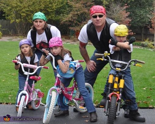 Biker Gang Costume