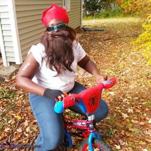 Biker Man Costume