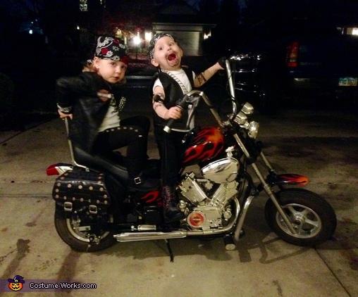 Biker Twins Costume