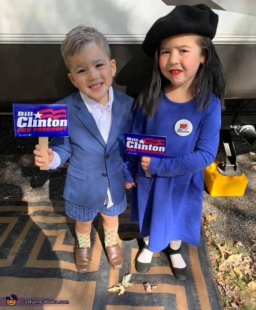 Bill & Monica Costume