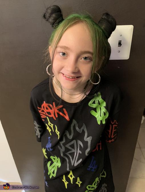 Alannah, Billie Eilish Costume