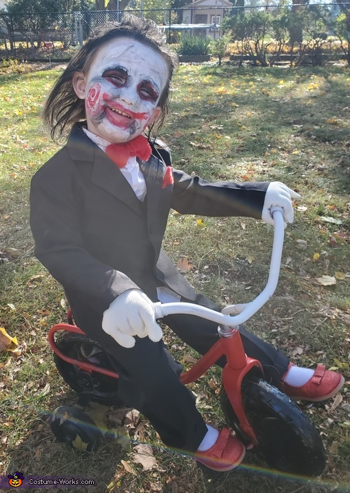 Billy from Saw Homemade Costume