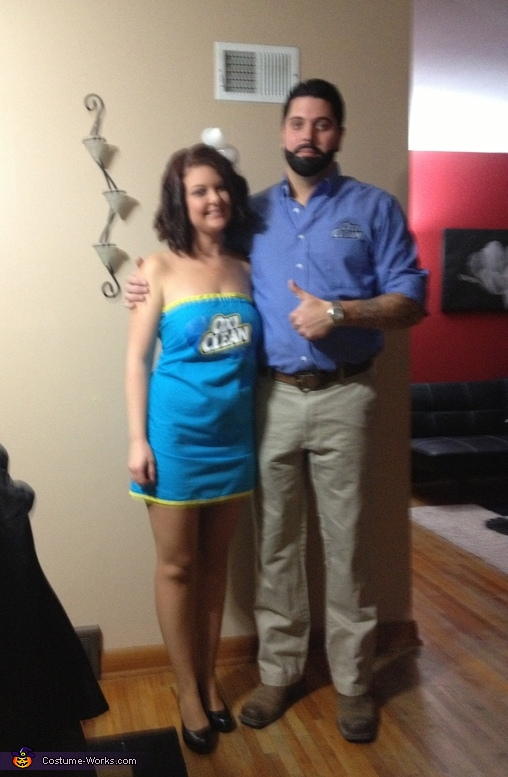 Billy Mays and Oxi Clean Costume