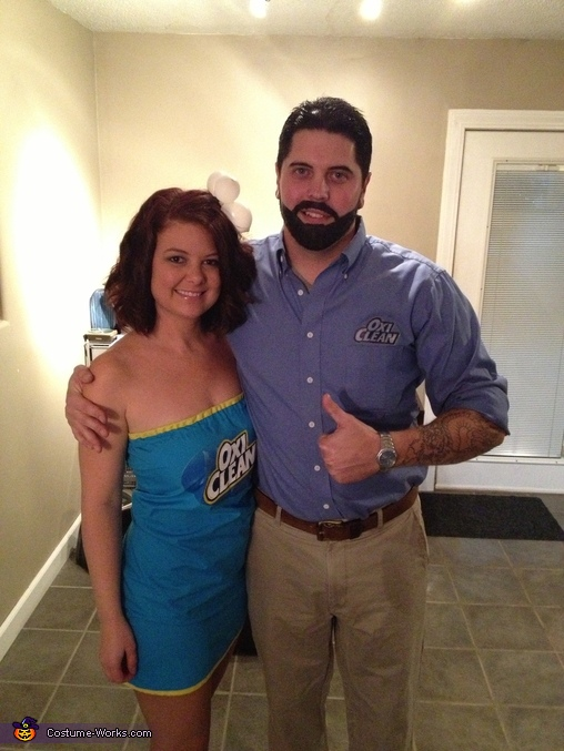 Billy Mays and his Oxi Clean , Billy Mays and Oxi Clean Costume