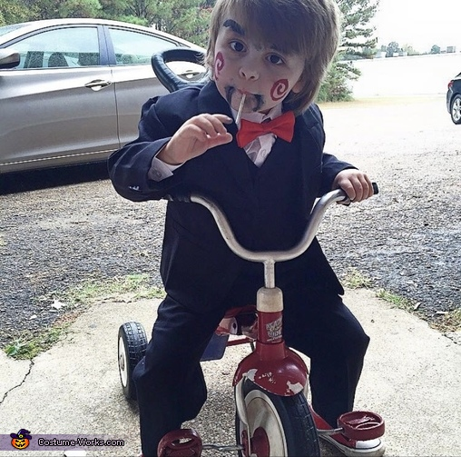 Billy the Puppet from Saw Costume