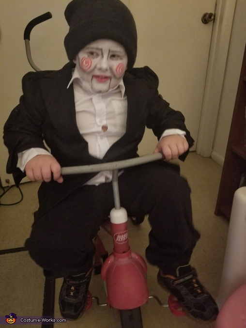 Billy The Puppet - Jigsaw Doll Costume