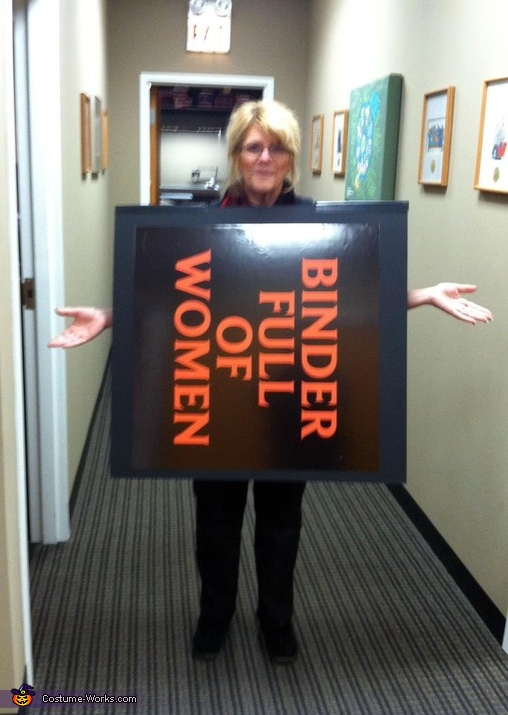 Binder full of Women - Homemade costumes for women