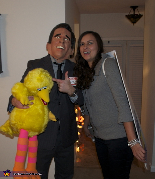 Romney killing PBS funding , Binder Full of Women, Mitt & Big Bird Costume