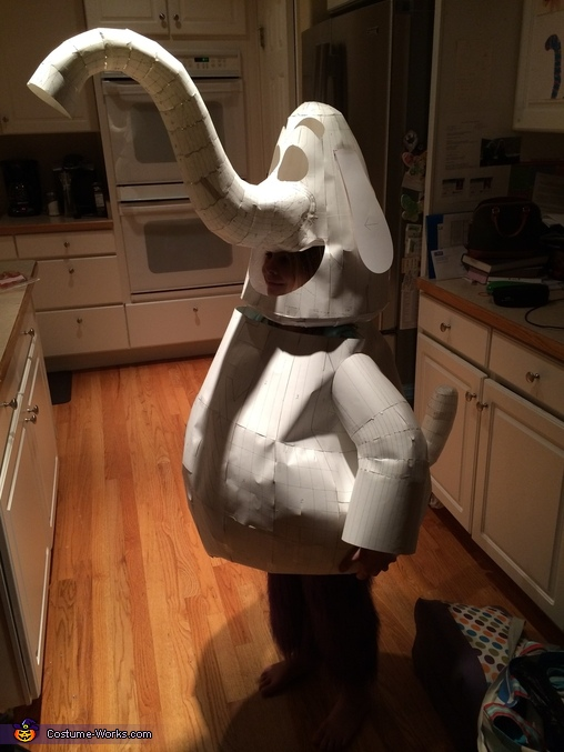 Cardstock Test Fit, Bing Bong Costume