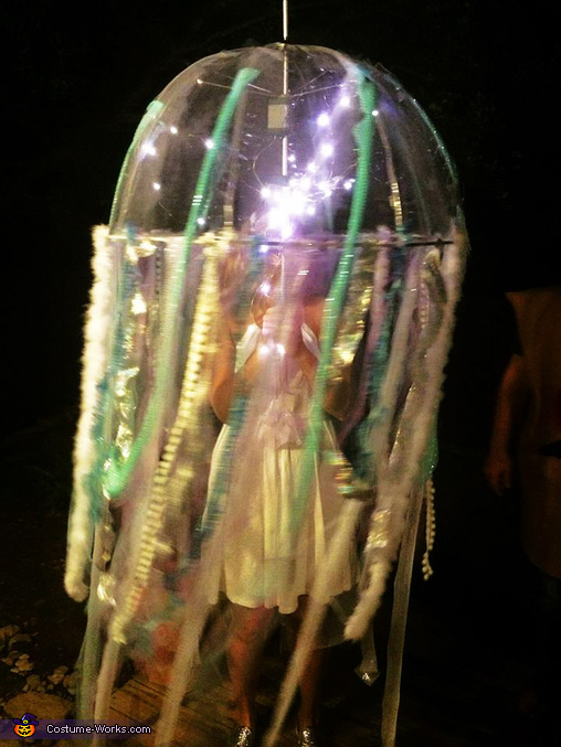 Bioluminescent Jellyfsh- A True Glow Stopper, Bioluminescent Jellyfish Costume
