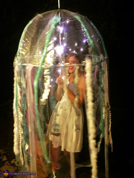 Bioluminescent Jellyfish Costume