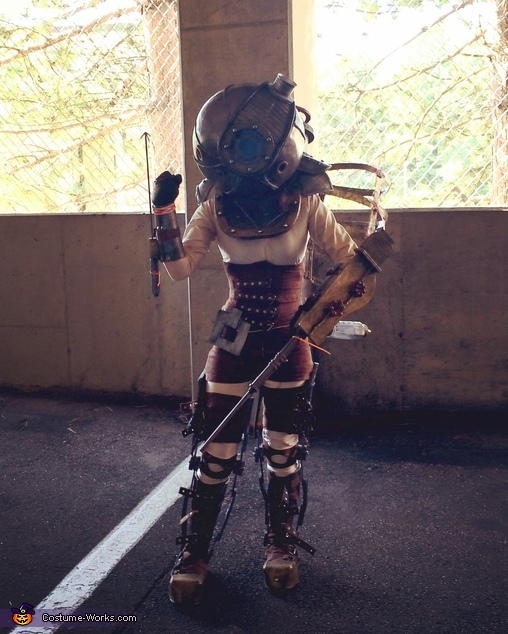 BioShock Big Sister Homemade Costume
