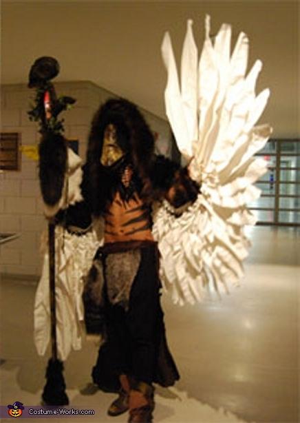 Bird Boy Costume