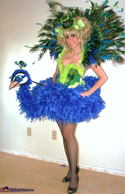 Homemade Bird Costume For Women Birds of a Feather Costumes