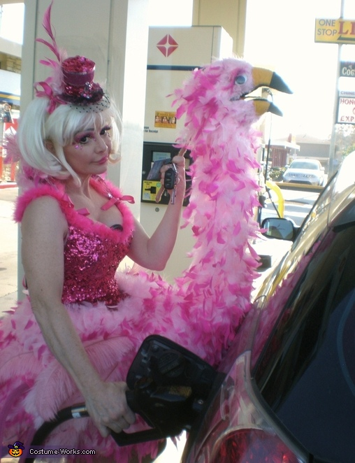 Have to get gas...., Birds of a Feather Costumes