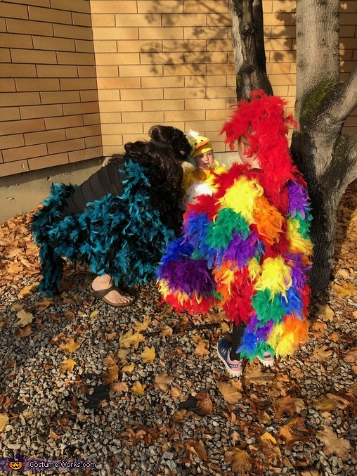 Birds of a feather flock together Homemade Costume
