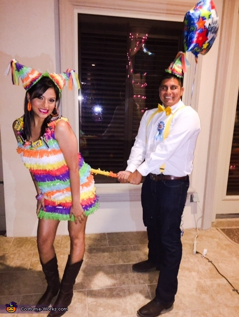 Birthday Boy and Pinata Costume