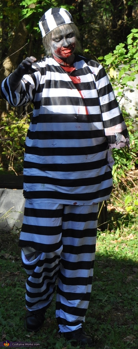 Bitten Prisoner Homemade Costume