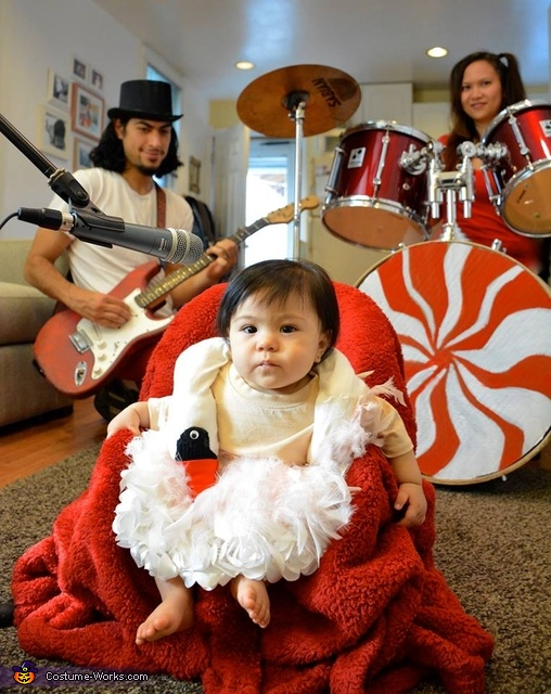 Björk and The White Stripes Costume