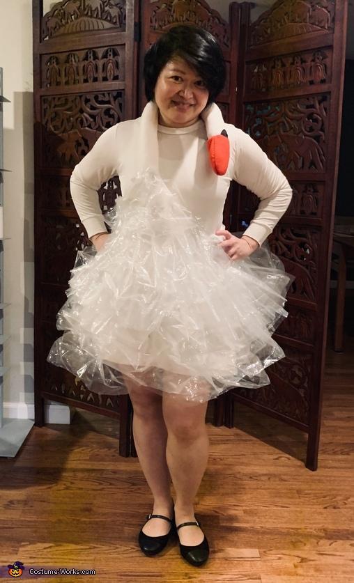 Bjork's Swan Dress Costume