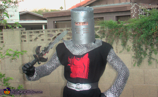 Black Knight - Homemade costumes for men