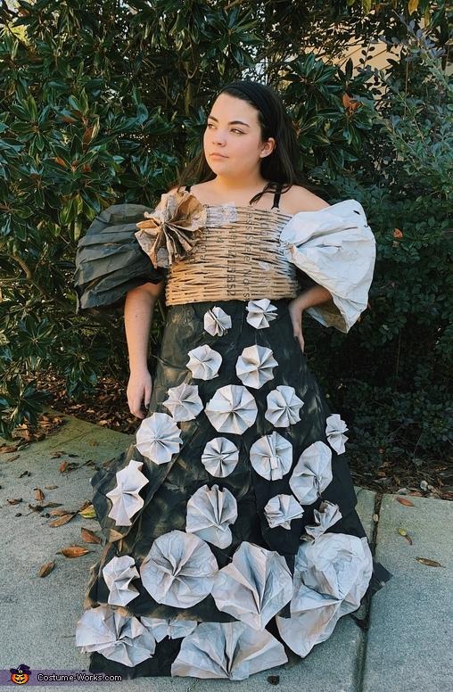 Black and White Ballgown Costume