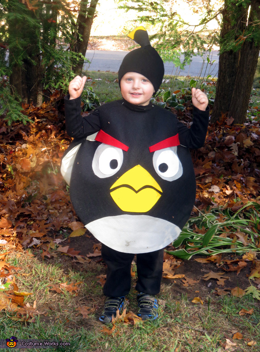 Black Angry Bird Bomb Costume