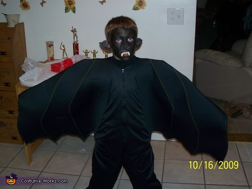 Black Bat Homemade Costume