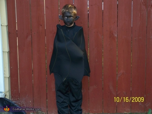 Black Bat Homemade Costume