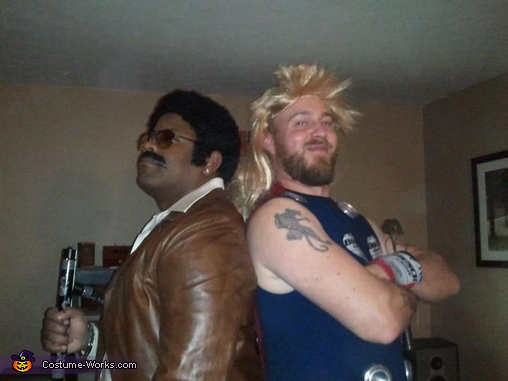 Black Dynamite with recession hit Thor!, Black Dynamite Costume