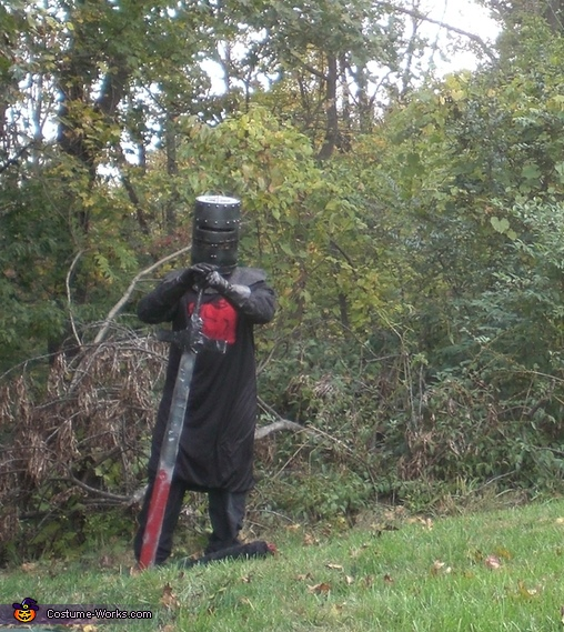 Full costume, Black Knight from Monty Python and the Holy Grail Costume