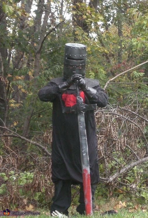Black Knight from Monty Python and the Holy Grail Costume