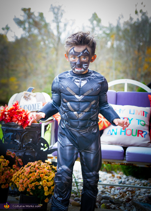 Black Panther Boy S Costume Last Minute Costume Ideas