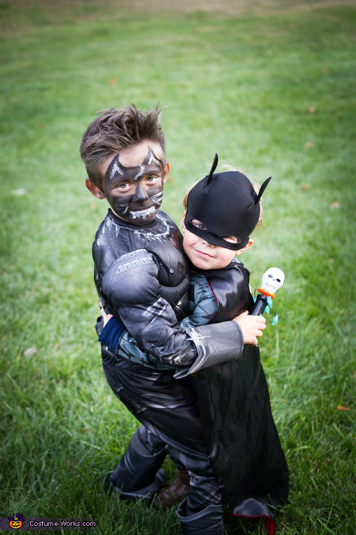 brotherly love, Black Panther Costume