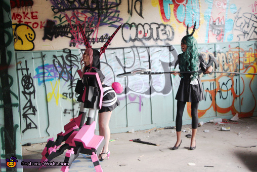 Black Rock Shooter XNFE Homemade Costume