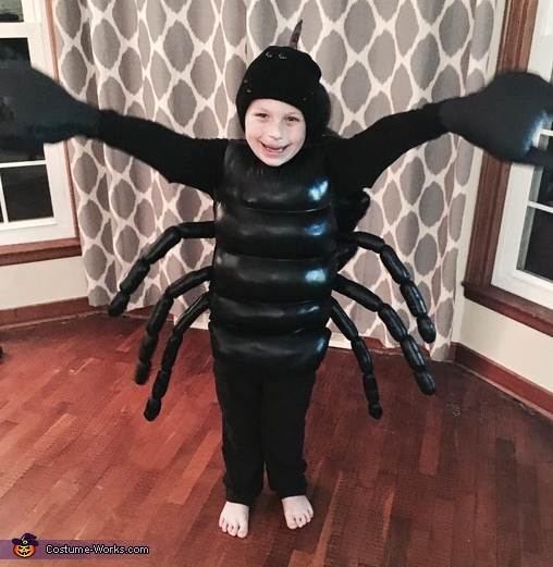 Black Scorpion Homemade Costume