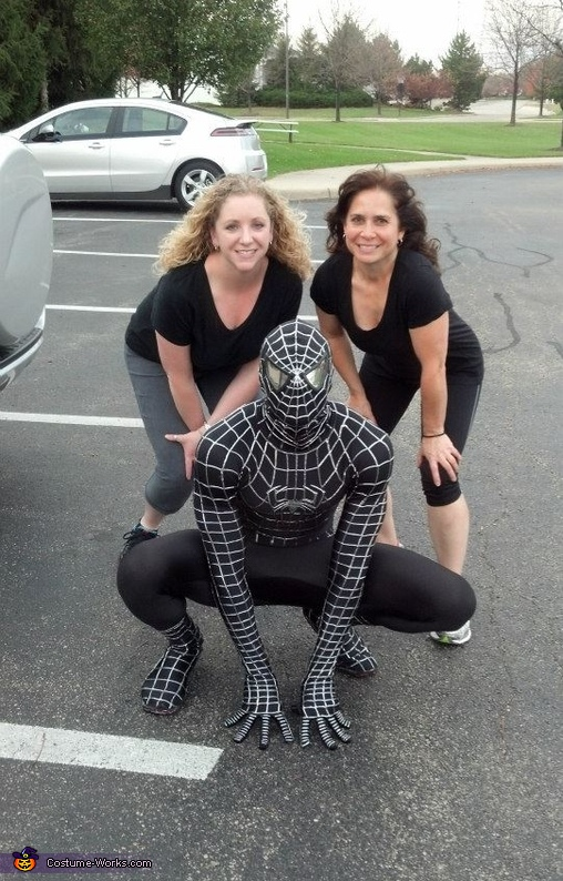 Homemade Black Spiderman Costume  sc 1 st  Costume Works & Black Spiderman Halloween Costume - Photo 10/10
