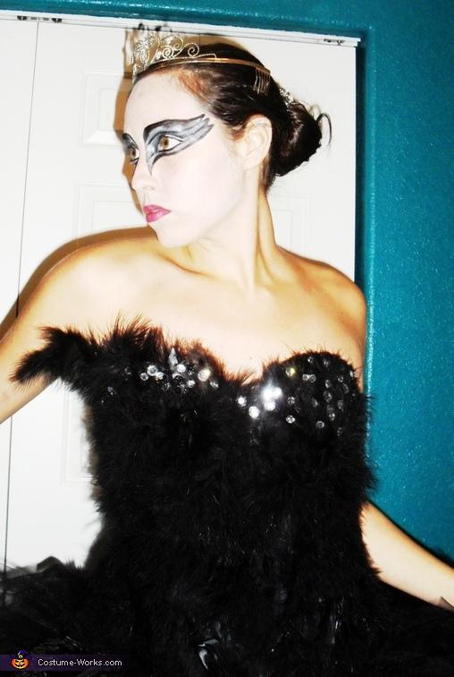 Homemade Black Swan Costume