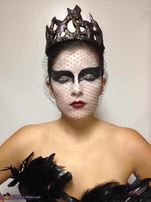 makeup!!!. Black Swan - Homemade costumes for women