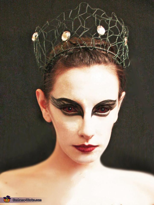 Makeup and edits by Sydney Lauren Robinson, Black Swan Costume