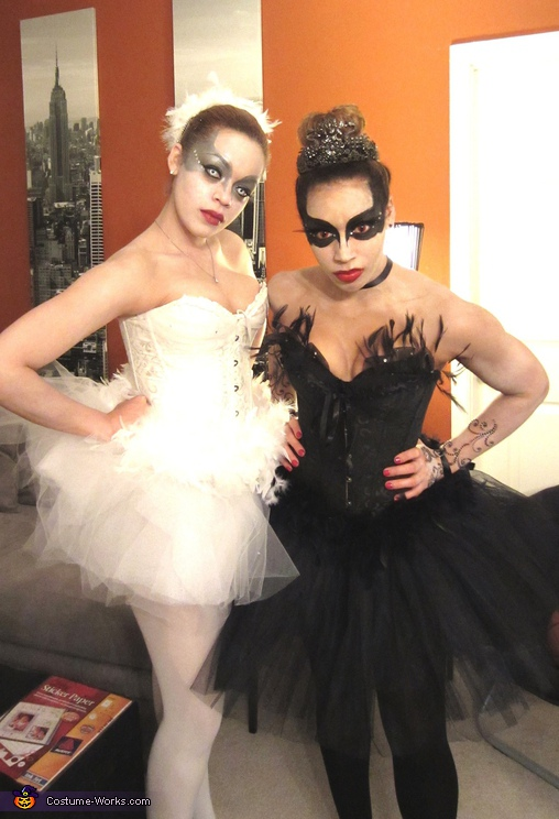 Black Swan and White Swan Costume