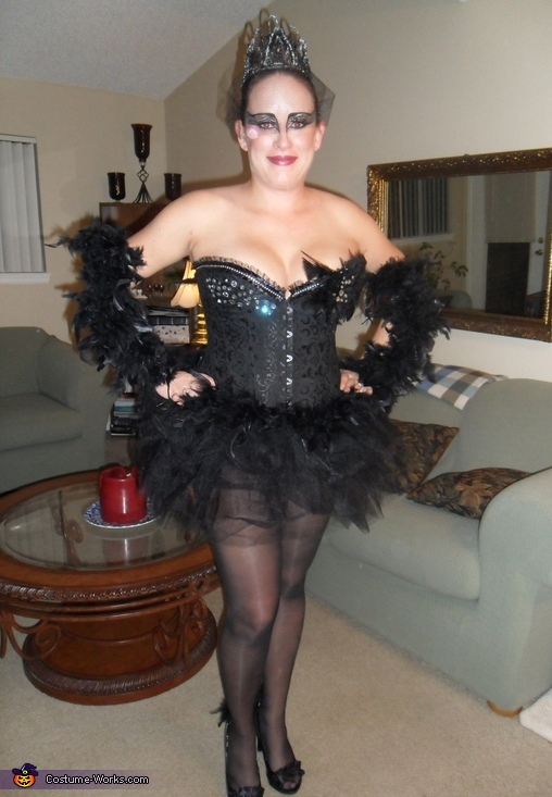 Black Swan & White Swan Costume